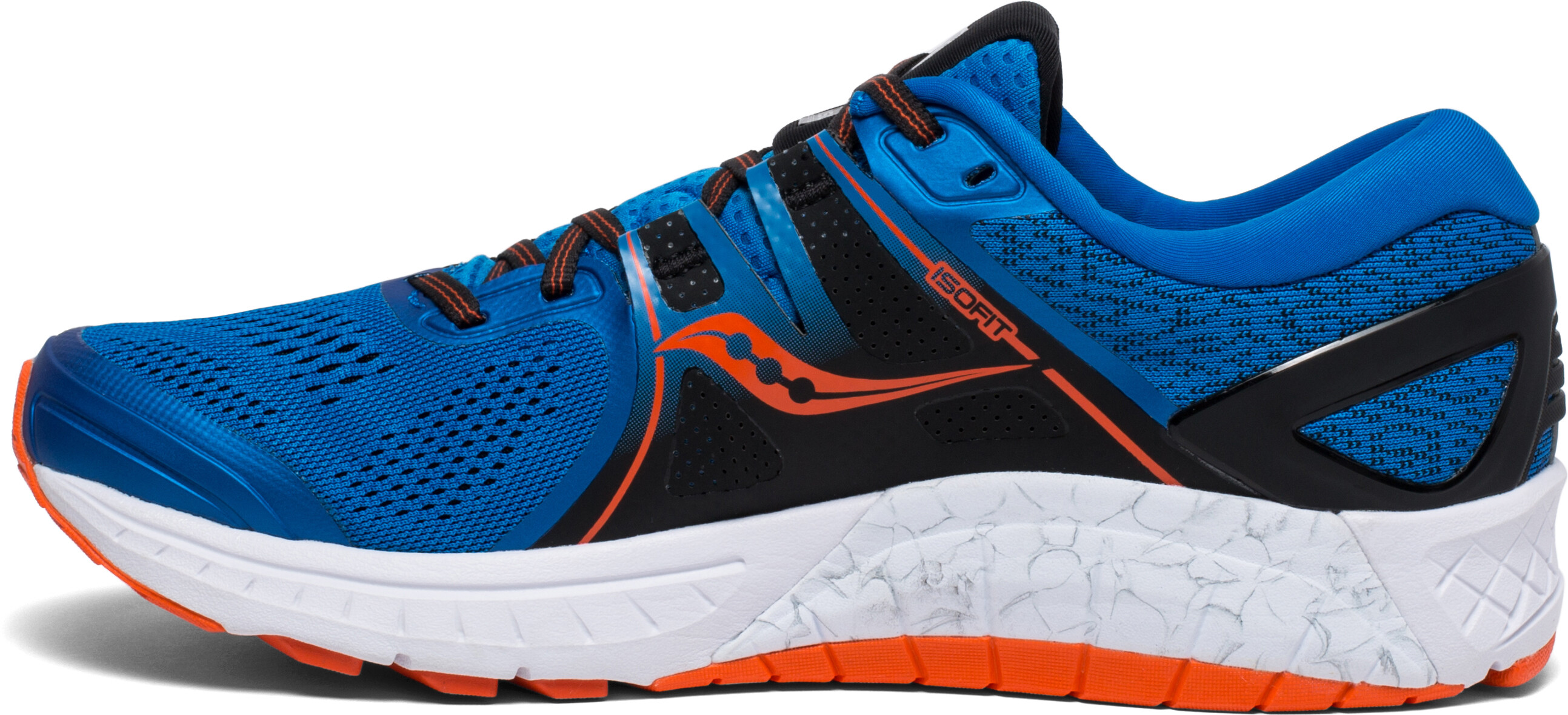 saucony Omni ISO scarpe da corsa Uomo arancione blu su Bikester 7bf3d99da68